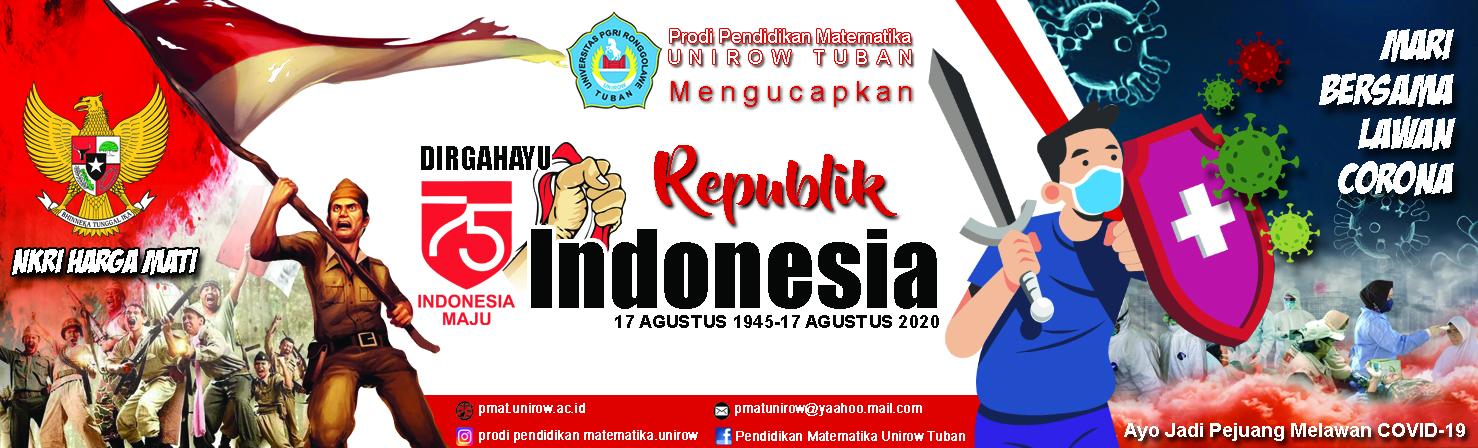 DIRGAHAYU REPUBLIK INDONESIA KE-75 TAHUN