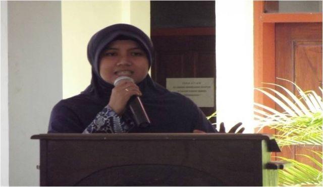 Sambutan Ketua Pelaksana Pelatihan Penggunaan Alat Peraga Bagi Guru-Guru SD/MI Se-Kecamatan Semanding